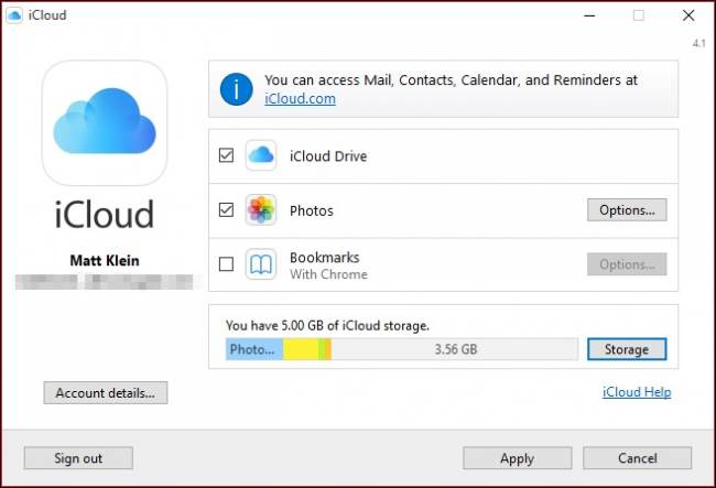 how-to-install-and-use-apple-icloud-on-windows-computers-7