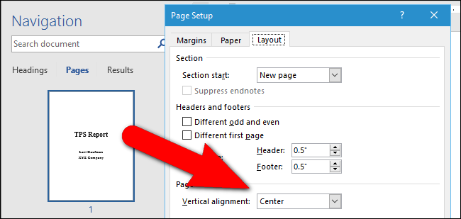 how-to-center-text-vertically-on-the-page-in-microsoft-word