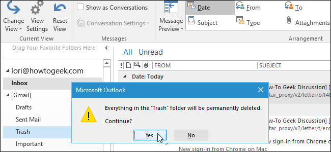 how-to-disable-the-delete-confirmation-dialog-box-in-outlook
